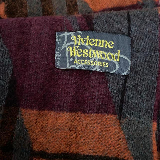 Vivienne Westwood(ヴィヴィアンウエストウッド)の新品未使用 ビビアンウエストウッド マフラー レディース  レディースのファッション小物(マフラー/ショール)の商品写真