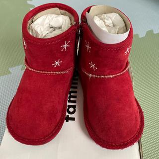 ファミリア(familiar)のfamiliar 赤ブーツ 14cm(ブーツ)