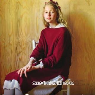 SM2 - sm2 新品タグ付カタログ掲載ラーベンニットワンピースボルドー