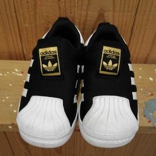 adidas - adidas スリッポン 17センチ