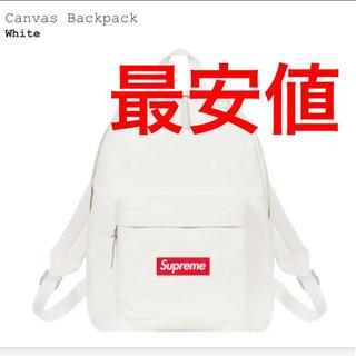 Supreme - supreme canvas backpack 新品未使用 送料無料