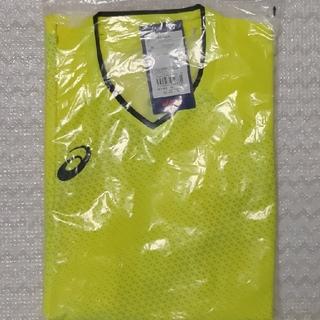 アシックス(asics)のクールゲームシャツ フラッシュイエロー 2XL(卓球)