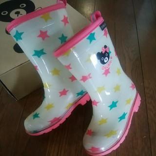 ダブルビー(DOUBLE.B)のミキハウスダブルb長靴17☆レインシューズ レインブーツ (長靴/レインシューズ)