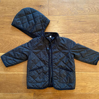 ムジルシリョウヒン(MUJI (無印良品))の無印 キルティング中綿コート 90 美品(ジャケット/上着)