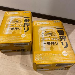 キリン(キリン)の一番絞り ビール 350ml 48本(2ケース)(ビール)