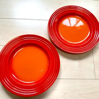 ルクルーゼ(LE CREUSET)のルクルーゼ お皿 2枚セット(食器)
