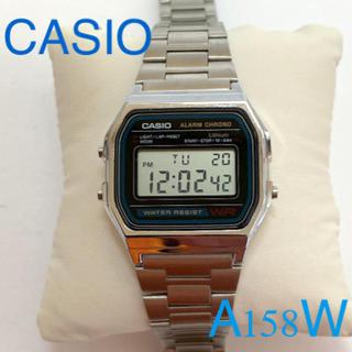CASIO - CASIO A158W 正常稼働品 実用品