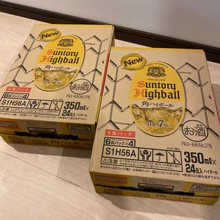 サントリー(サントリー)の角 ハイボール 缶 350ml 48本(2ケース)(ウイスキー)