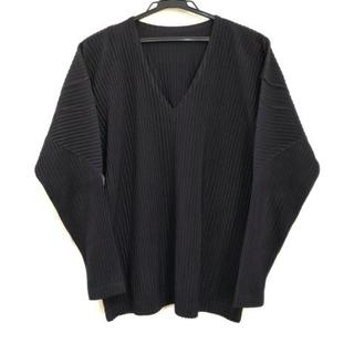 イッセイミヤケ(ISSEY MIYAKE)のイッセイミヤケ 長袖カットソー サイズ2 M(Tシャツ/カットソー(七分/長袖))