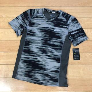 NIKE - 【新品】ナイキ ランニング Tシャツ メンズ Sサイズ カーキ&グレー