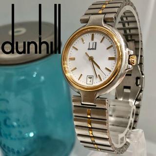 ダンヒル(Dunhill)の43 ダンヒル時計 メンズ腕時計デイト入り! 新品電池(腕時計(アナログ))