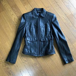 ダナキャランニューヨーク(DKNY)のDKNY レザージャケット size4(ライダースジャケット)