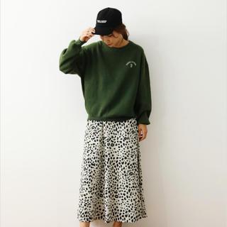 ロデオクラウンズワイドボウル(RODEO CROWNS WIDE BOWL)のロデオクラウンズワイドボウル animal patternスカート♡新品(ロングスカート)