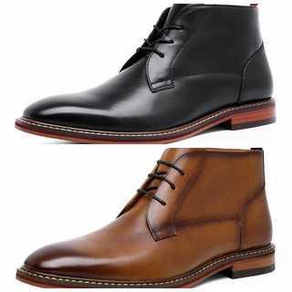 マーティンブーツメンズ本革ビジネス黒靴結婚式商事通勤DS867801H(ブーツ)