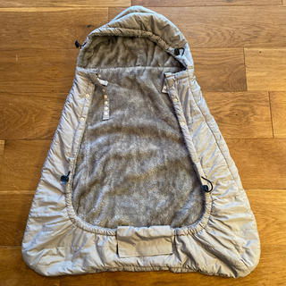 エルゴベビー(Ergobaby)のBaby Hopper 防寒ケープ エルゴ ベビーカーに 美品(ベビーカー用アクセサリー)