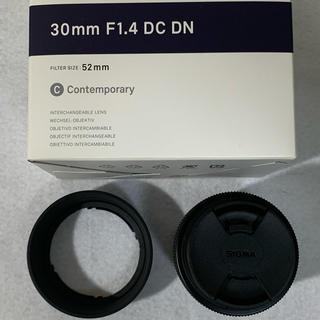 SIGMA - SIGMA 30mm F1.4 DC DN ソニーEマウント