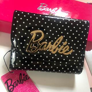 バービー(Barbie)のBarbie 黒ドット財布(財布)