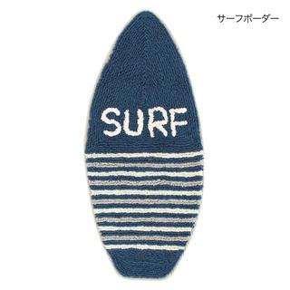 ボーダー☆サーフボード型マット/ネイティブ/SURF/ALOHA/西海岸