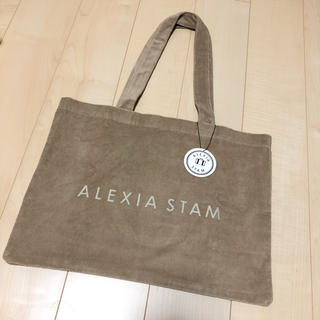 ALEXIA STAM - ALEXIA STAM ビーチセットのトートバッグ ②