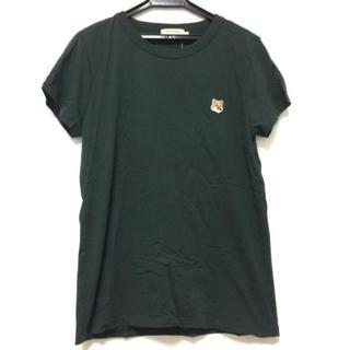 メゾンキツネ(MAISON KITSUNE')のメゾンキツネ 半袖Tシャツ サイズL -(Tシャツ(半袖/袖なし))
