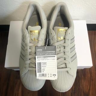 adidas - 新品未使用 定価13200円 adidas superstar グレー 27cm