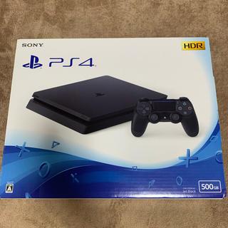 PlayStation4 - PS4 本体(CUH-2100AB01 BLACK 500GB)