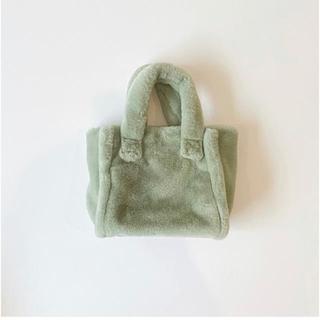 SeaRoomlynn - searoomlyn ECO FUR TOTE BAG バッグミント新品