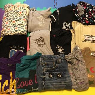 レピピアルマリオ(repipi armario)の女児服150 160まとめ売り13枚(Tシャツ/カットソー)