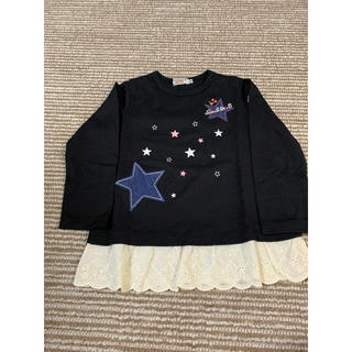 ダブルビー(DOUBLE.B)の【90サイズ】ダブルビー 長袖Tシャツ(Tシャツ/カットソー)