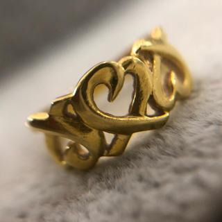 パロマピカソ(Paloma Picasso)の美品 Tiffany パロマピカソ リング 750 刻印あり K18 ブランド(リング(指輪))