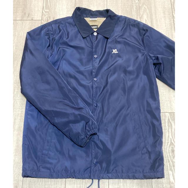 XLARGE(エクストララージ)の XLARGE × champion コラボ コーチジャケット ブルゾン メンズのジャケット/アウター(ナイロンジャケット)の商品写真