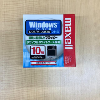 maxell - マクセル maxell フロッピーディスク 2HD 10枚入1箱