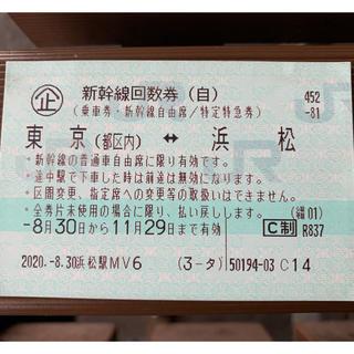 JR - 新幹線回数券 東京 浜松往復