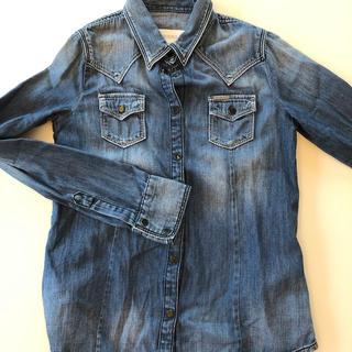 ディーゼル(DIESEL)のDIESEL KIDS ダンガリーシャツ サイズ8 女の子(ジャケット/上着)