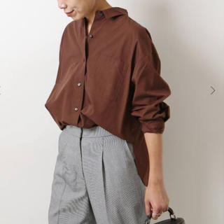 Spick and Span - spick&span シャツ ブラウン