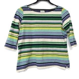 シビラ(Sybilla)のシビラ 七分袖セーター サイズL レディース(ニット/セーター)