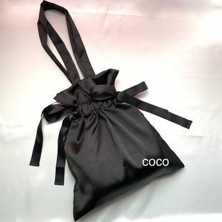 ディーホリック(dholic)のサテン巾着リボントートバッグ(トートバッグ)