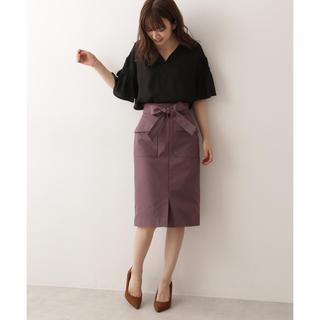 プロポーションボディドレッシング(PROPORTION BODY DRESSING)のproportion body dressing リボンワークカーゴスカート(ひざ丈スカート)