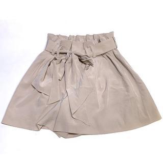 グレースコンチネンタル(GRACE CONTINENTAL)のグレースコンチネンタル ベルト リボン スカート (ミニスカート)