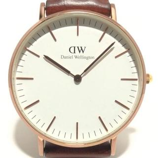 ダニエルウェリントン(Daniel Wellington)のダニエルウェリントン 腕時計 - B36R7 白(その他)