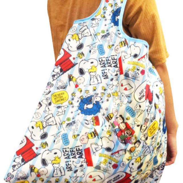 SNOOPY(スヌーピー)のスヌーピー   エコバック 2個セット レディースのバッグ(エコバッグ)の商品写真