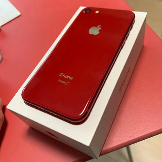 iPhone - iPhone 8 64GB Product Red SIMフリー