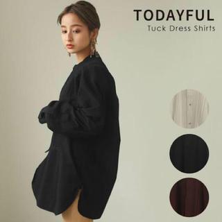 TODAYFUL - TODAYFUL  Tuck Dress Shirts タック ドレス シャツ
