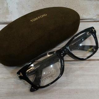 トムフォード(TOM FORD)のトムフォード メガネ ブラック セル アジアンフィット(サングラス/メガネ)