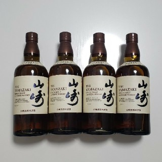 サントリー - ジャパニーズ ウイスキー サントリー 山崎 ノンエイジ フルボトル 4本セット