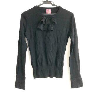Chesty - チェスティ 長袖セーター サイズF - 黒
