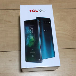 ANDROID - TCL 10 Pro 新品未使用 アンバーグレイ