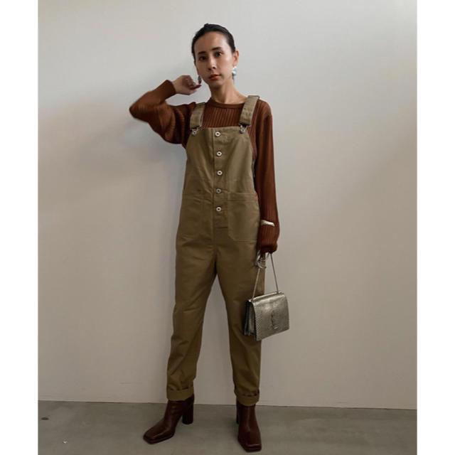 Ameri VINTAGE(アメリヴィンテージ)のAmeri ×universaloverall beige Sサイズ レディースのパンツ(サロペット/オーバーオール)の商品写真