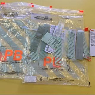 オフホワイト(OFF-WHITE)のオフホワイト ファスナー付き保存用袋&タグ(その他)