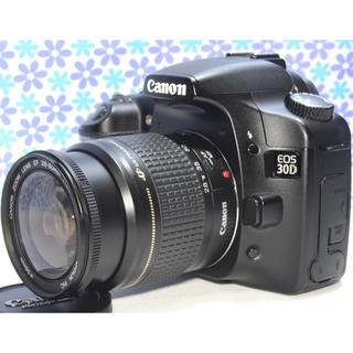 キヤノン(Canon)の初心者おすすめ★Canon EOS 30D★高画質★コンパクト★すぐ使える(デジタル一眼)